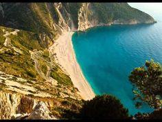Murtos Beach-Kefalonia Island Greece Rated best beach in Greece Greece Holiday, Krabi, The Good Place, Beautiful Places, To Go, River, Island, Beach, Amazing