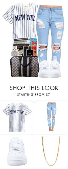 """""""See you again"""" by queen-tiller ❤ liked on Polyvore featuring NIKE, Forever 21, women's clothing, women, female, woman, misses and juniors"""