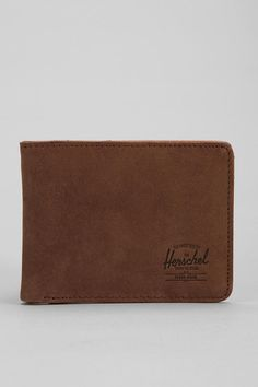 Herschel Supply Co. Hank Leather Wallet- a wallet like this for drew but tri-fold?