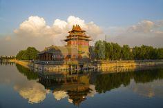Corner Tower of the Forbidden City | www.superimagemarket.com