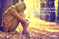 Feeling lonely? No friends in sight?