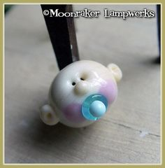 Baby+Boy+Lampwork+Bead+by+moonrakerbeads+on+Etsy,+$8.00
