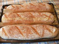 Křupavé cibulové bagety Bread, Food, Brot, Essen, Baking, Meals, Breads, Buns, Yemek