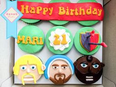 Clash of Clan cupcakes