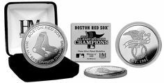 Boston Red Sox 2013 Division Champions Silver Mint Coin - Buy for $19.99 at www.ItsAlreadySigned4U.com #2013worldseries #bostonredsox