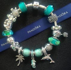 PANDORA  Summer  Teal