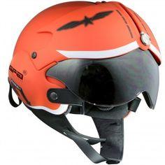 Casque Jet GPA Aircraft Militaire Orange http://www.icasque.com/Casque-moto/Jet/Aircraft-Militaire-Orange/