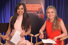 Sabrina Carpenter and Sofia Carson interview each other about Adventures in Babysitting   [ https://style.disney.com/news/2016/06/08/sabrina-carpenter-and-sofia-carson-interview-each-other-about-adventures-in-babysitting/ ]