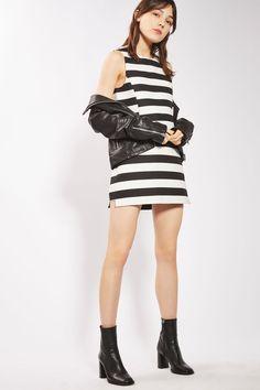 Bold Stripe Pelmet Skirt
