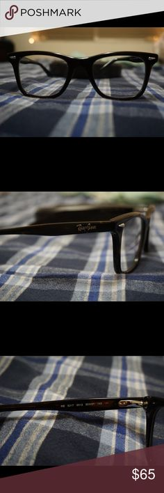 57c36d0a38a 100% authentic Rayban eyeglasses! RB5217 100% authentic Rayban prescription  eyeglasses. Almost brand