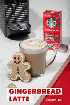 Christmas Drinks, Christmas Goodies, Christmas Desserts, Christmas Treats, Christmas Baking, Starbucks Recipes, Starbucks Drinks, Coffee Recipes, Starbucks Holiday Blend