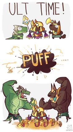 league of legends comic