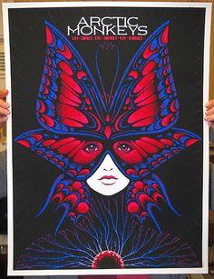 Todd-Slater-Arctic-Monkeys-Texas-Tour-Poster-2014