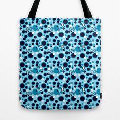 Blue Dots Tote Bag