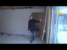 СИП-панели и металл. Дом для молодой семьи своими руками // FORUMHOUSE - YouTube