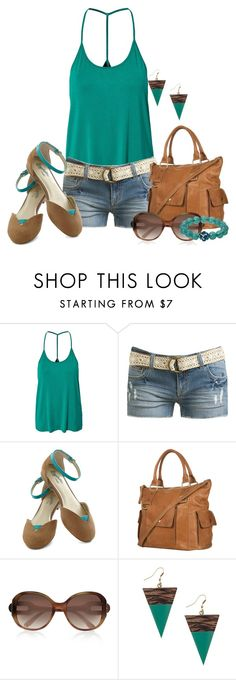 """""""Summer Look :!!"""" by thelifestylebuzz ❤ liked on Polyvore featuring Jeane Blush, Wet Seal, Seychelles, Chloé, women's clothing, women, female, woman, misses and juniors"""