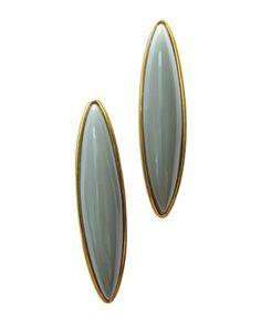 Grey Etta Earrings by ShopJami.com