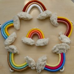 Rainbow Nursery Decor, Purple Rooms, Rainbow Decorations, Rainbow Wall, Purple Lilac, Pet Gifts, Dusty Rose, Rainbows, Macrame
