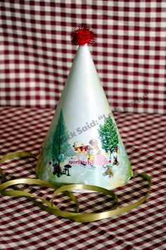 Teddy Bear Picnic Party Hat