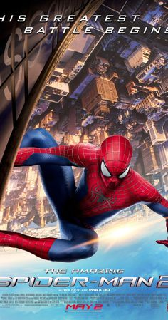 The Amazing Spider-Man 2 (2014) The best of all Spider-Man movies and probably the best of Marvel. Critic in Spanish here http://www.filmesrome.com/peliculas-de-accion/the-amazing-spider-man-2-2014/