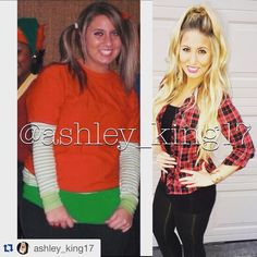 Before and after weight loss transformation story...  Great meal prep inspiration and fitness motivation! | TheWeighWeWere.com
