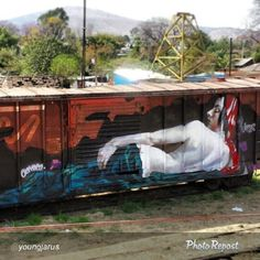 """By @youngjarus """"Waking up in Oaxaca! Thanks to @graffitiworldtv #Jarus #vimural…"""