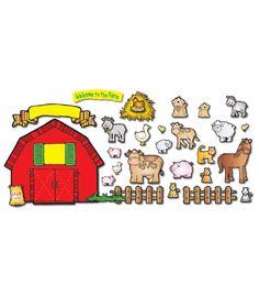 Farm Friends Bulletin Board Set