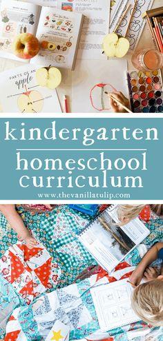 Kindergarten Homeschool Curriculum, Homeschool Curriculum Reviews, Kindergarten Lessons, Homeschooling Resources, Tulip, Vanilla, Toddler Fun, Learning Activities, Preschool Activities