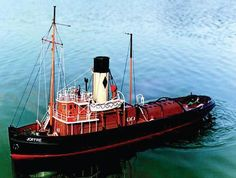 Caldercraft Joffre Tyne Tug R/C Model Boat Kit | Hobbies Joffre was built in 1916 specifically built for the coastal towing business.  Fitted with two sets of towing hooks, an unusual feature for tugs of her size, the after one was used for towing lighters on the river Tyne.