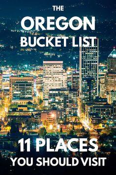 The Oregon Bucket List: 11 Places You Really Should Visit – Trip Memos Bahamas Vacation, Vacation Trips, Vacations, Oregon Vacation, Oregon Travel, Travel Usa, Usa Roadtrip, Portland Real Estate, Visit Oregon