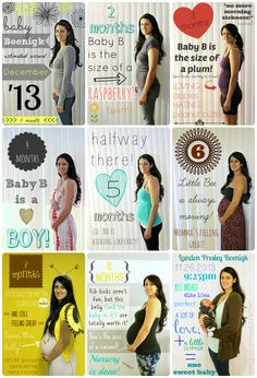 20 weekly baby bump pictures to inspire you. Document your pregnancy by taking weekly photos of your growing belly. Check out these examples to get ideas. 6 Months Pregnant Belly, Pregnancy Months, Pregnancy Scrapbook, Pregnancy Journal, Weekly Pregnancy Chalkboard, Pregnancy Progress Pictures, Pregnancy Photos, Pregnancy Blogs, Baby Bump Pictures