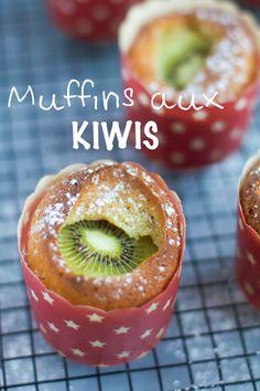 """Un """"Flo"""" de bonnes choses » Muffins moelleux aux kiwis"""