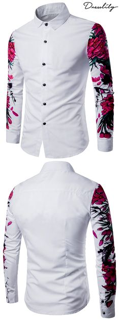 Are you looking for Shirts cheap casual style online? DressLily.com offers the latest high quality men's Shirts at great prices. Free shipping worldwide.#shirts#men