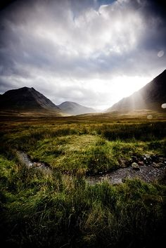 Glen Coe in Scotland | Stunning Places #Places