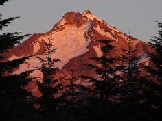 Mt Jefferson, Oregon cascades