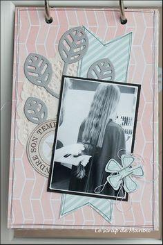 Histoire de cheveux!   MANOUSCRAP Mini Albums, Polaroid Film, Scrapbooking, Image, Ikea Frames, Minis, Hair, Paper, Scrapbooks