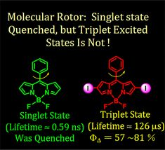 Different Quenching Effect of Intramolecular Rotation on the Singlet and Triplet Excited States of Bodipy DOI: 10.1021/acs.jpcc.7b10466