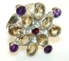 Best Sterling Silver Citrine Rings
