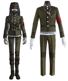 Danganronpa V3: Cosplay Costume Unisex Halloween Carnival Uniforms Designer Tracksuits, Cosplay Style, Halloween Carnival, Danganronpa V3, Cosplay Costumes, Motorcycle Jacket, Latest Trends, Shirt Designs, Unisex