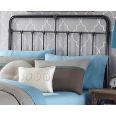 Fashion Bed Group by Leggett & Platt Fairfield Dark Roast Heaboard, Black