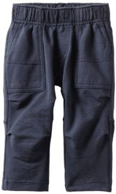 Tea Collection Baby-boys Infant Straight Leg Utility Pant, Indigo, 6-12 Months Tea Collection. $30.00