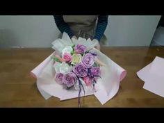 하비공유]#비누꽃 졸업식꽃다발 만들기 - YouTube
