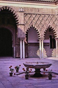 Alcázar Courtyard, Sevilla - siviglia, Sevilla