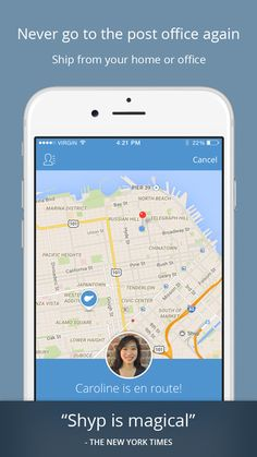 Shyp - Shipping on Demand: Pickup, Packaging and Delivery Tracking by Shyp