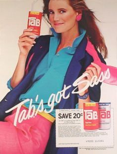 """These fizzy concoctions from the 80s send me back to the mall, the convenience store, or to """"laying out"""" on the beach with my gang of girls. These were the soft drinks of 80s teen-dom."""