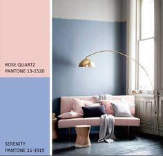 Por primera vez PANTONE se ha decantado por dos colores para marcar la tendencia…