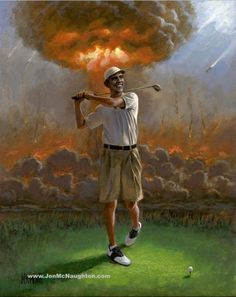 Obama's Foreign Policy - PICTURE: Here's a Painting of Barack Obama I WOULD Buy in a Heartbeat