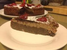 Kris' Kitchen: Mocha cheesecake on a chocolate bean base