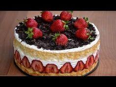 ✧ ТОРТ ФРЕЗЬЕ [Вкуснейший Французский десерт] ✧ Cake Fraisier ✧ Марьяна - YouTube