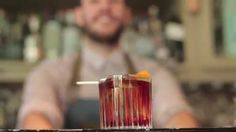 Classic Negroni by Nikos Bakoulis, Gin Joint - The FNL Guide Gin Joint, Flask, Barware, Cocktails, Classic, Craft Cocktails, Derby, Cocktail, Classic Books